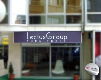 Lectus Group svetlecka reklama